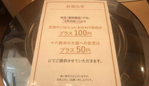 【やよい軒】おかわり有料化の店舗はどこ?白米おかわり100円の店舗も!